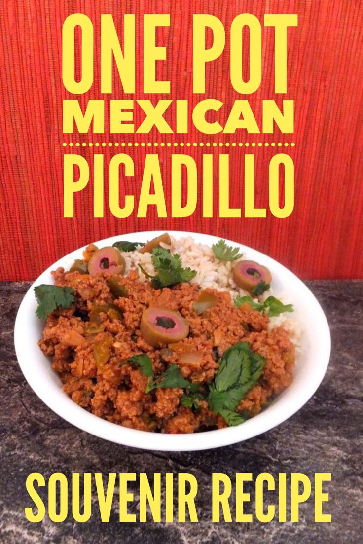 Mexican picadillo easy one pot meal easy mexican food recipes easy mexican food recipe forumfinder Images