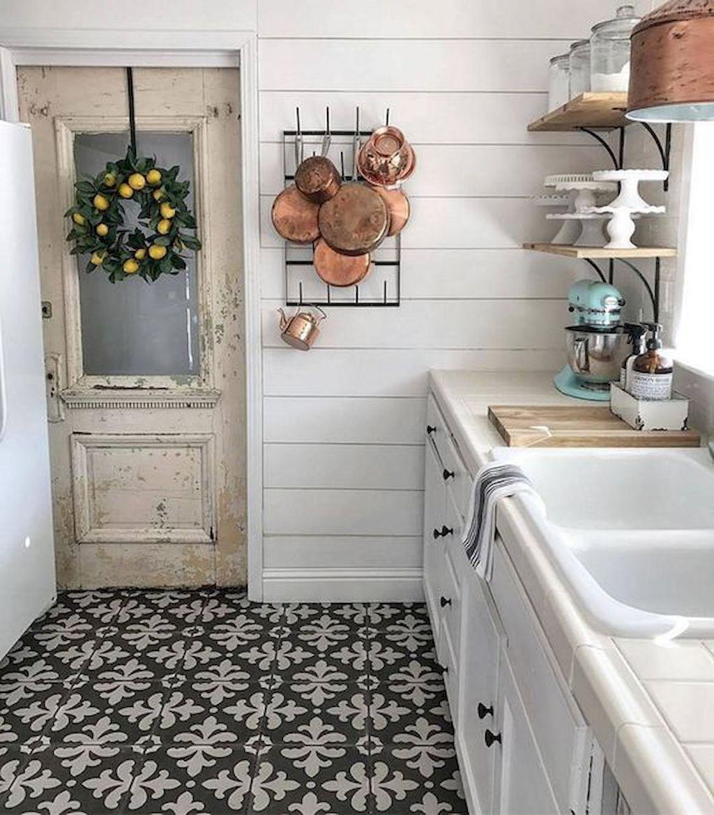 100 Stunning Farmhouse Kitchen Ideas On A Budget 2