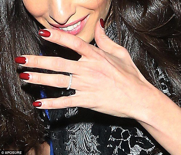 Amal And Her Wedding Ring.