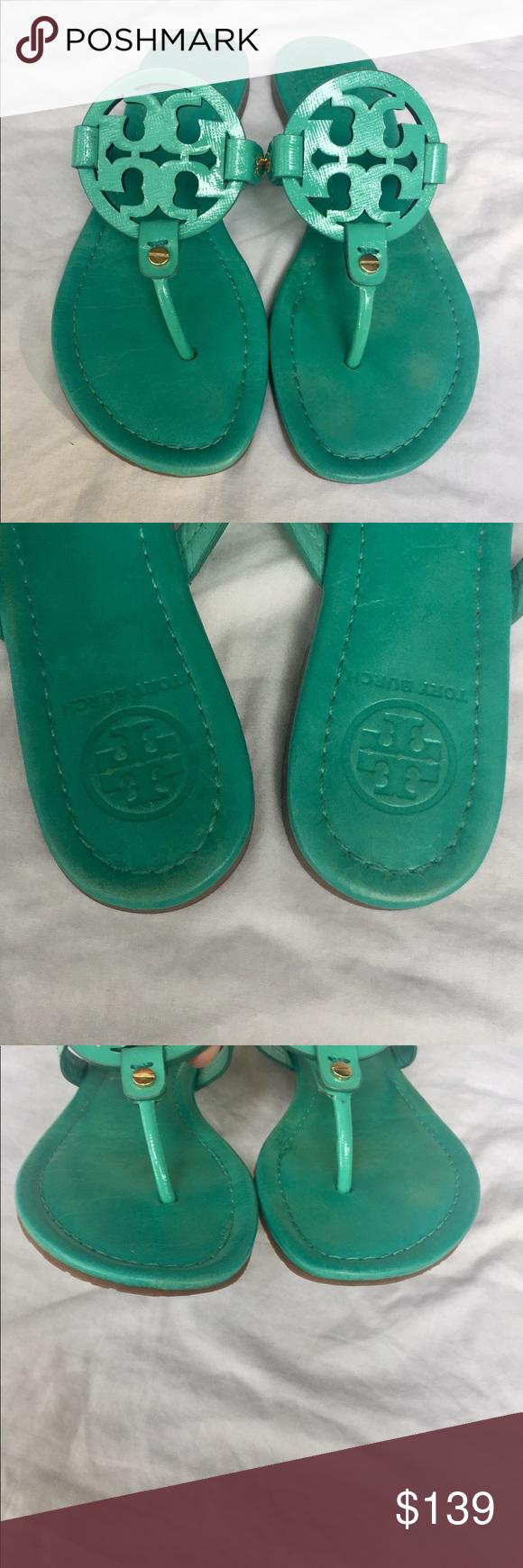 88ae609fa07f Tory Burch Island Turquoise Miller Sandals Tory Burch Miller Sandals. Tory  Burch Color  Island