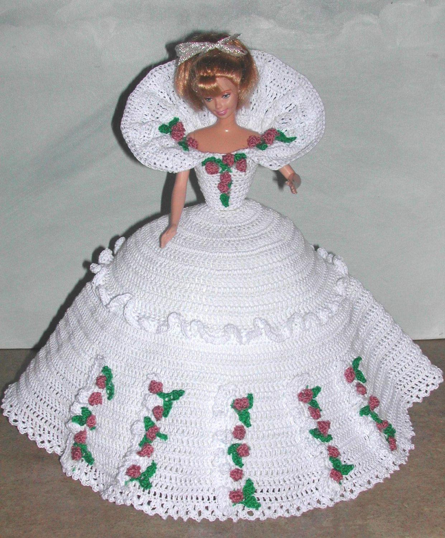 Crochet moda muñeca Barbie patrón 666 calendario muñeca de | muneca ...