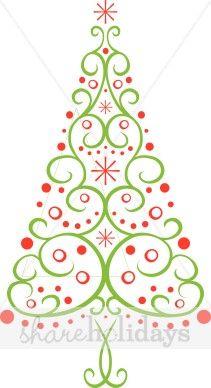 Multi Christmas Tree Clipart Christmas Tree Clipart Christmas Tree Clipart Christmas Clipart Whimsical Christmas Art