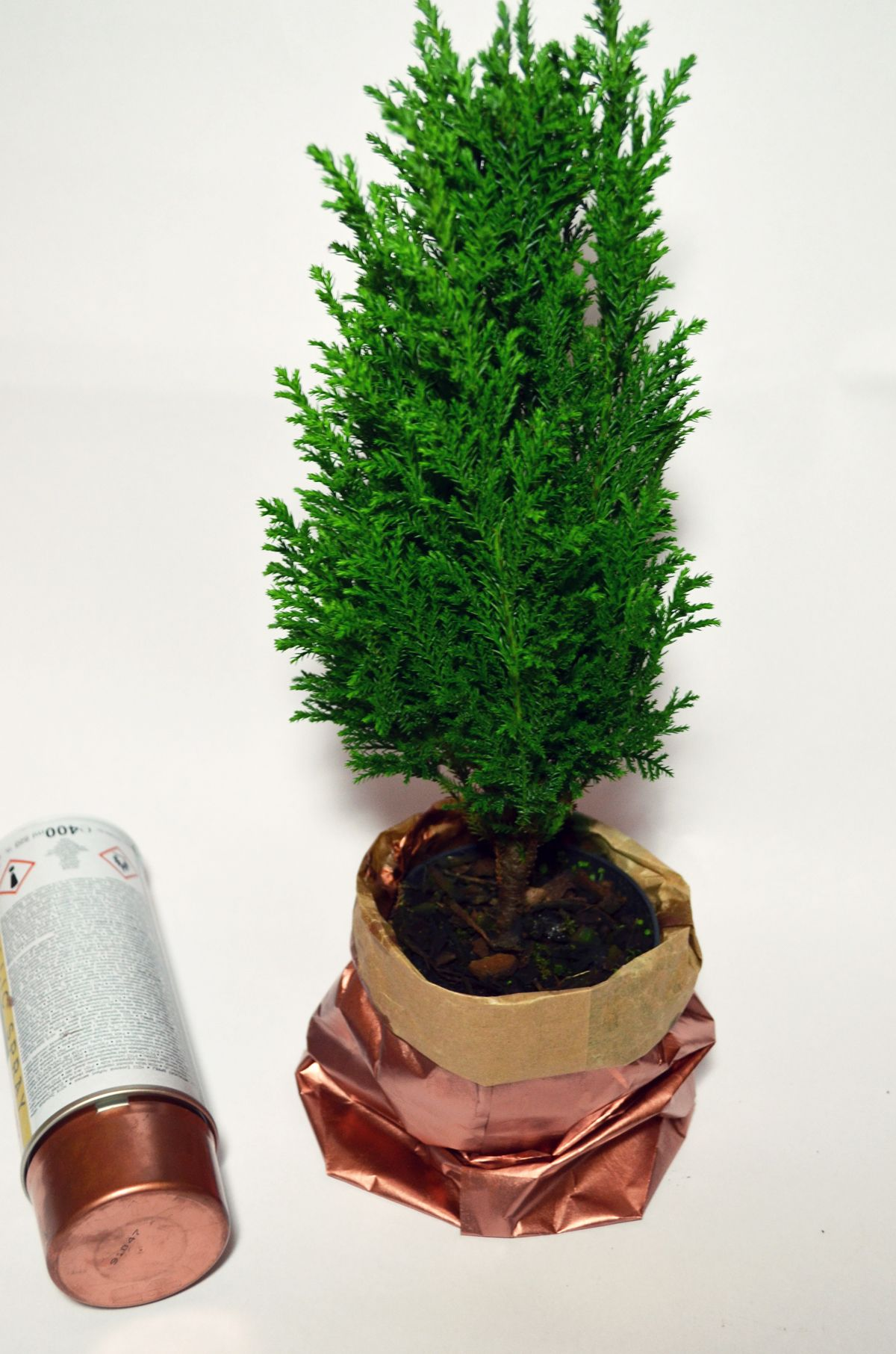 Mini-Tannenbaum #DIY #monochromediy