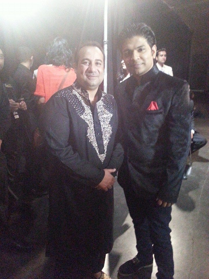With Rahat Fate Ali Khan