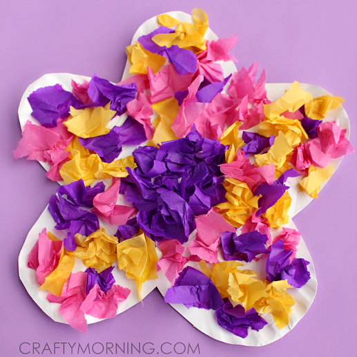 8 Terrific Tissue Paper Crafts For Kids Art For Kids Paper