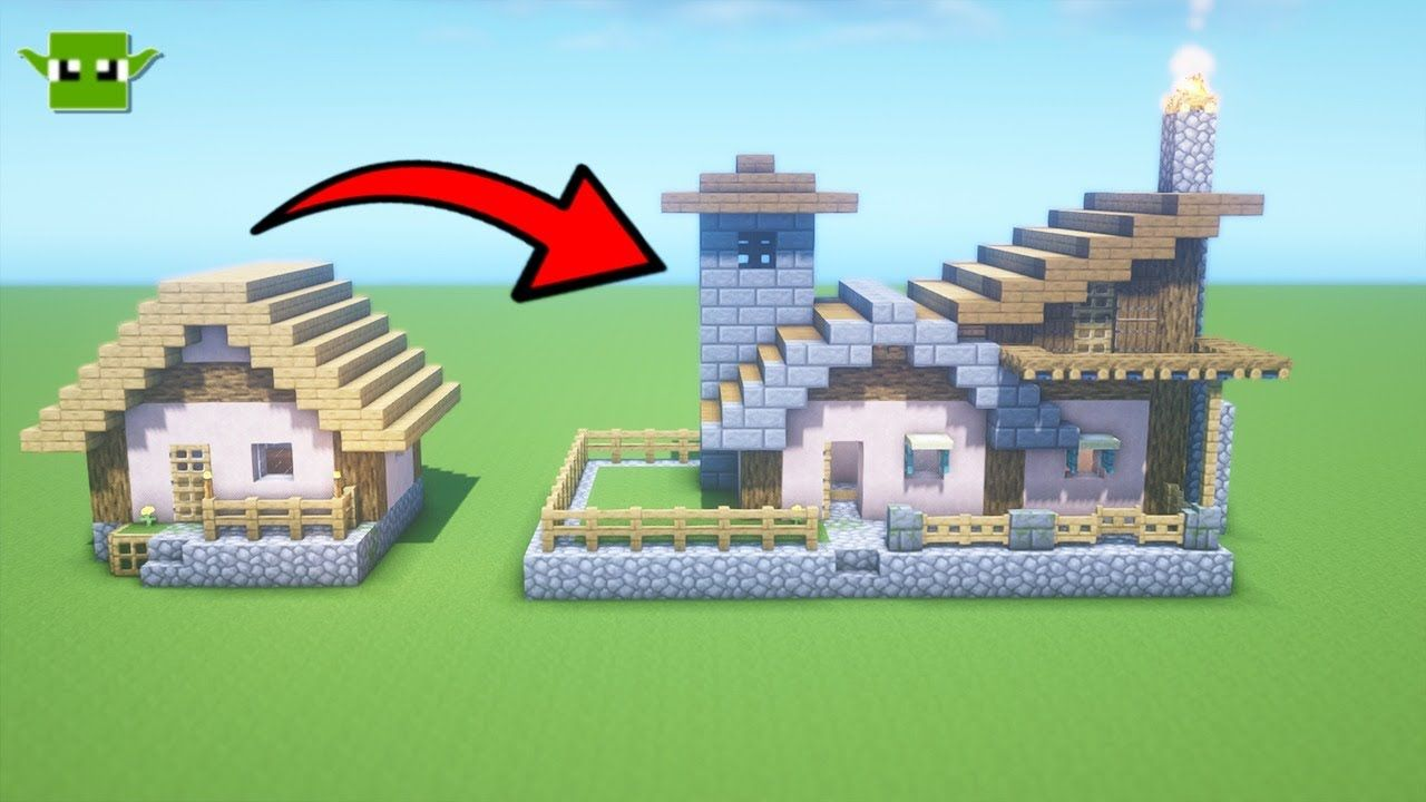 Minecraft Tiny Villager Transformations Youtube In 2021 Minecraft Minecraft House Designs Tiny