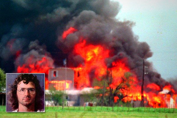 April 19 1993 Waco Tx David Koresh And The Branch