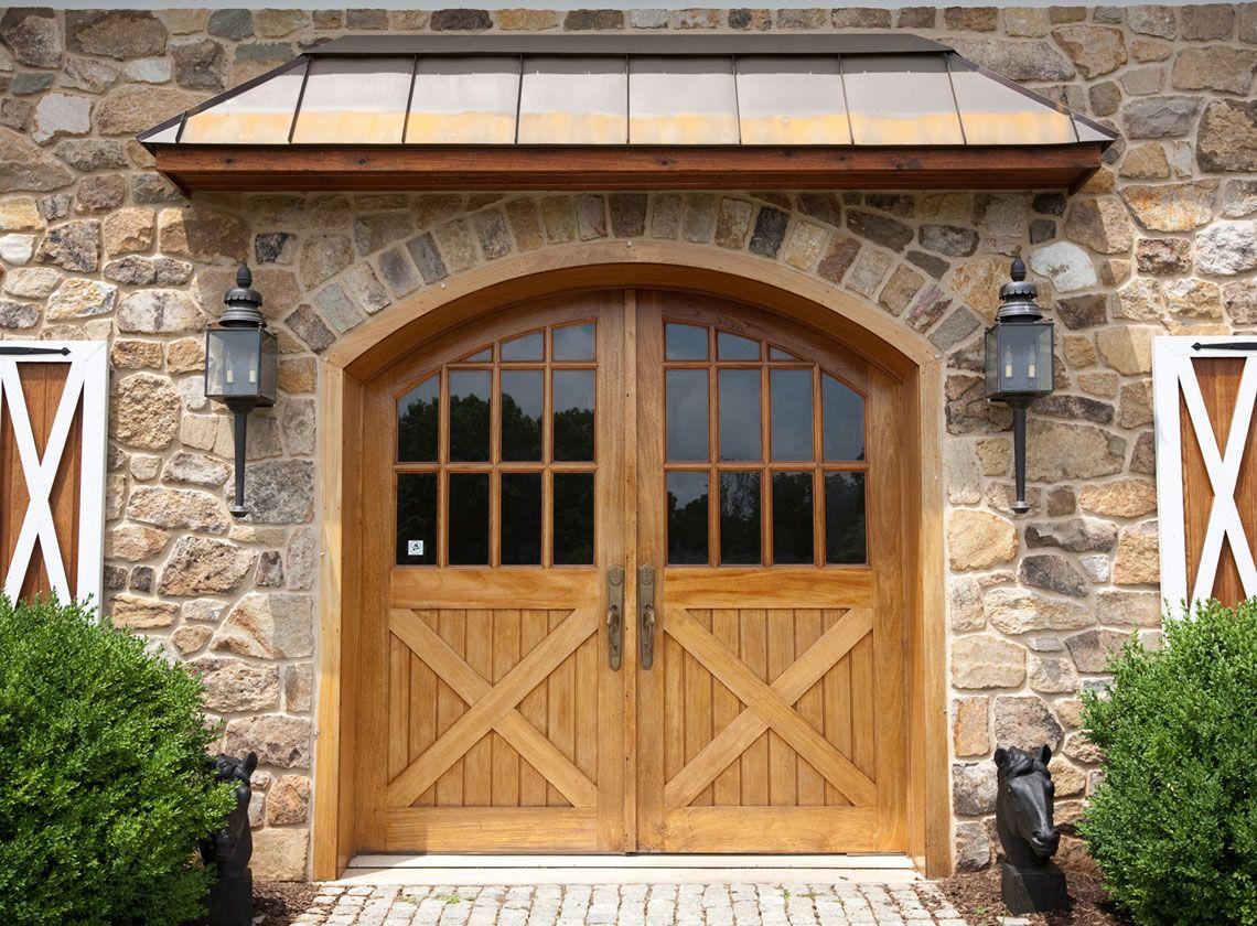 Rustic front door overhang google search for the home for Rustic exterior doors