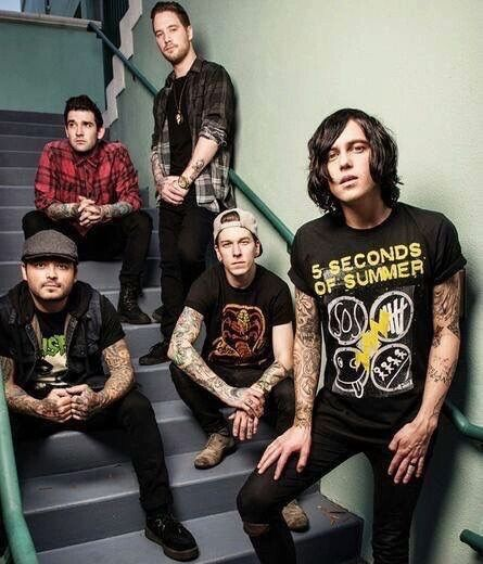 Image about sleeping with sirens in bands � by ibby