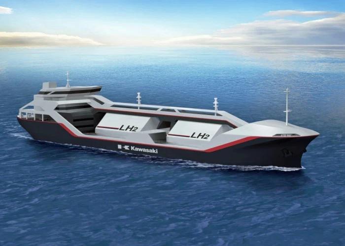 Liquid Hydrogen ship a reality in the near future