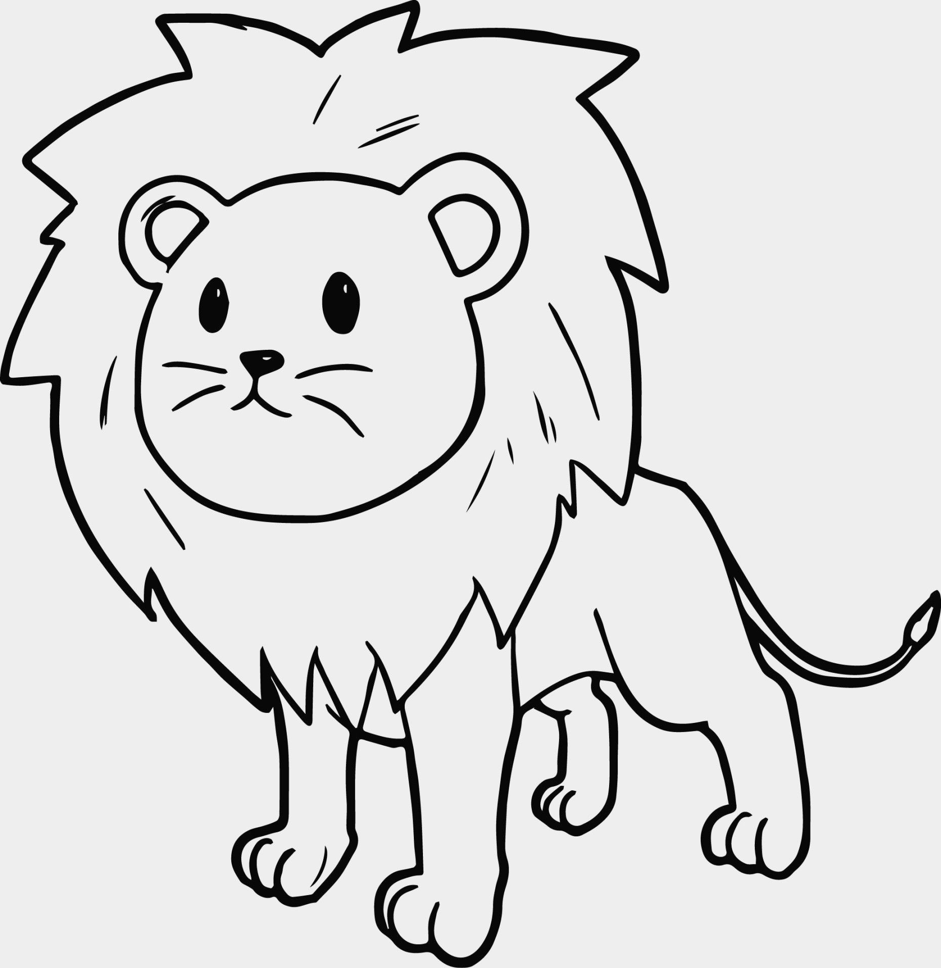 Cartoon Lion Coloring Pages New Colouring And Lion Coloring