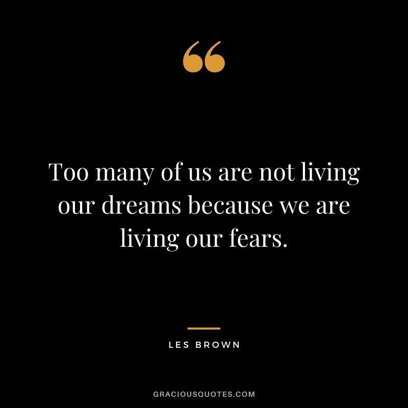 50 Motivational Les Brown Quotes (SUCCESS)