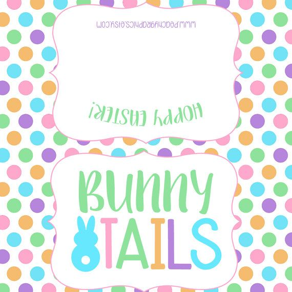 Just print fold and staple printable kids easter treat tag items similar to printable easter treat toppers easter goodie bag tags bunny tails marshmallow goody bags classroom gifts holiday on etsy negle Choice Image