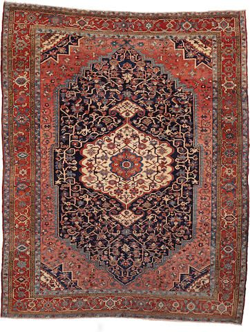 Serapi Carpet Northwest Persia Circa 1900 Size Approximately 9ft 4in X 12ft Antique Carpets Serapi Rug Oriental Rug