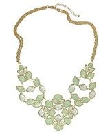 Grayce Statement Necklace in Aster