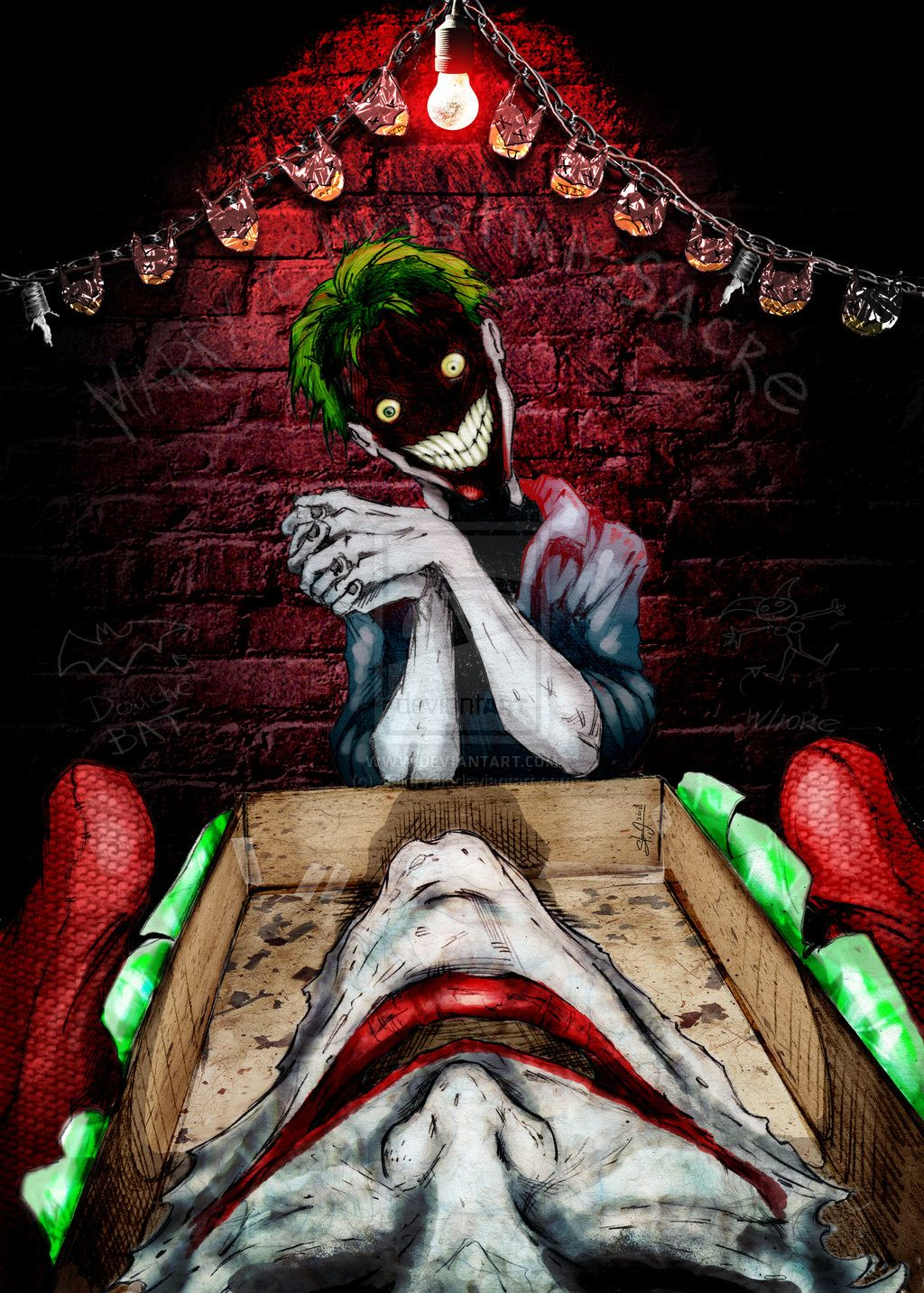 Joker Christmas Gift | Coringa | Pinterest | Joker, Christmas gifts ...