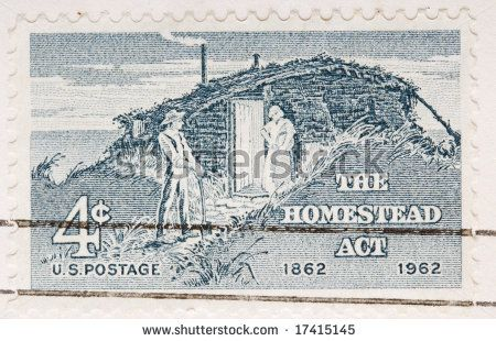 The Homestead Act of 1862 brought thousands of settlers to