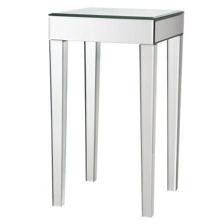 Genial Mirrored Side Table : Target