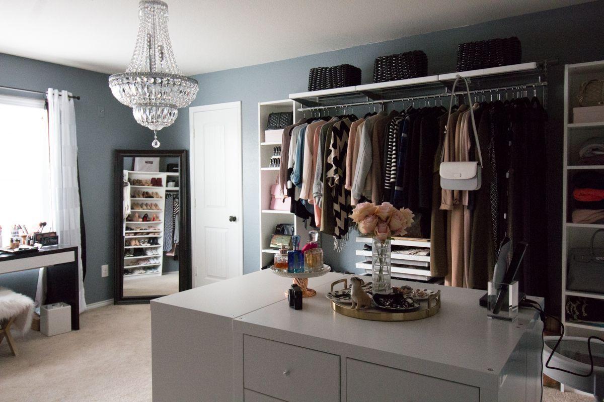 Diy island for dressing room using ikea my dream walk in