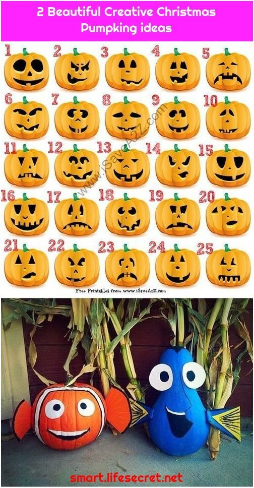 2 Beautiful Creative Christmas Pumpking ideas #pumpkincarvingideastemplatesfree... #carving #disney #Easy #Finding #Free #Halloween #ideas1. Disney Painted Pumpkins: Over 45 No-Carve Disney Pumpkin Ideas   Finding Nemo an...Disney Painted Pumpkins: Over 45 No-Carve Disney Pumpkin Ideas  ... #pumpkincarvingideastemplatesfree...