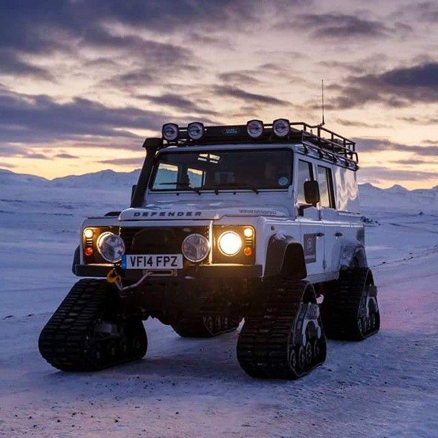 Land Rover Defender, Off Road