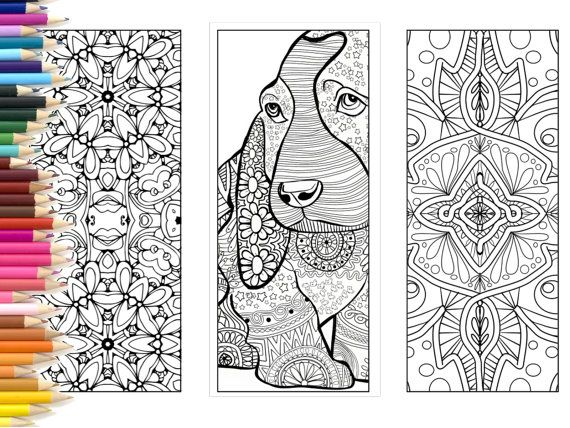 92+ Bookmark Coloring Drawing Best HD