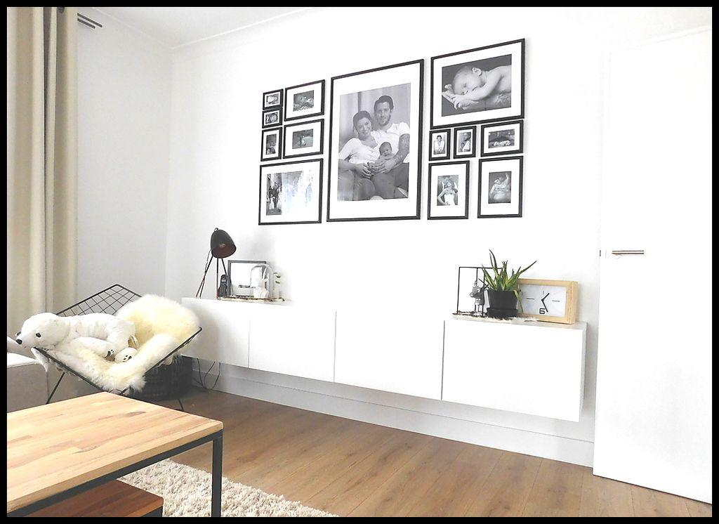 Ikea Besta - interieur - zwart wit - Scandinavisch | Nenali ...