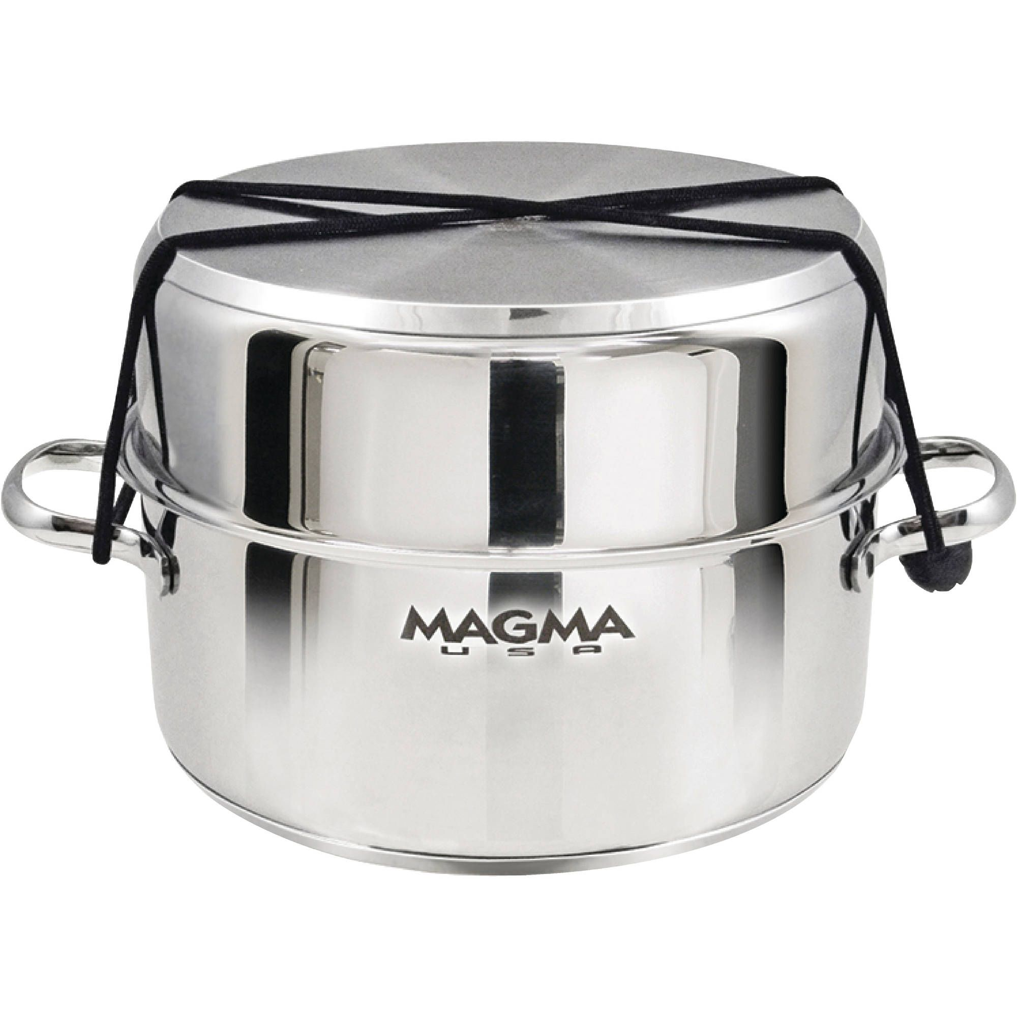 Stainless Magma Nesting 10-Piece Cookware Slate Black Ceramica Non-Stick