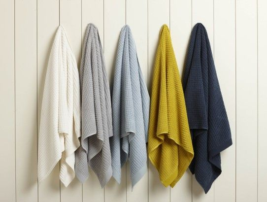 Image result for bath towels hanging
