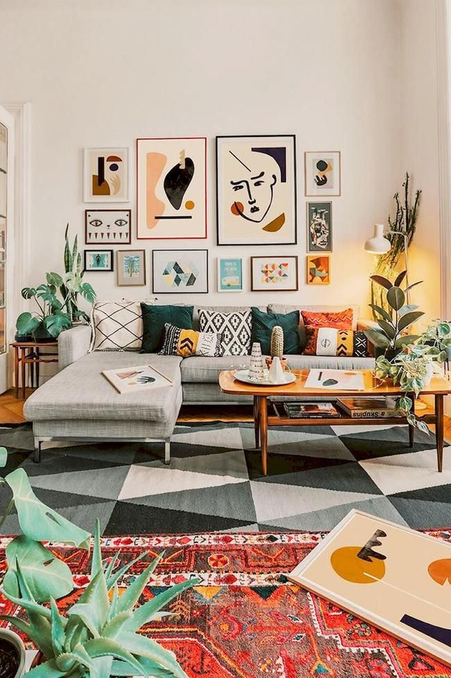 14 of the most beautiful living rooms on Pinterest