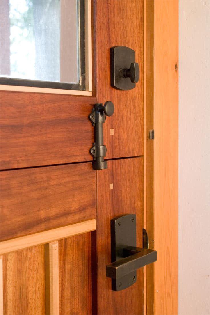 Dutch Door From Real Carriage Door Sliding Hardware Front Door Hardware Dutch Doors Diy Dutch Doors Exterior