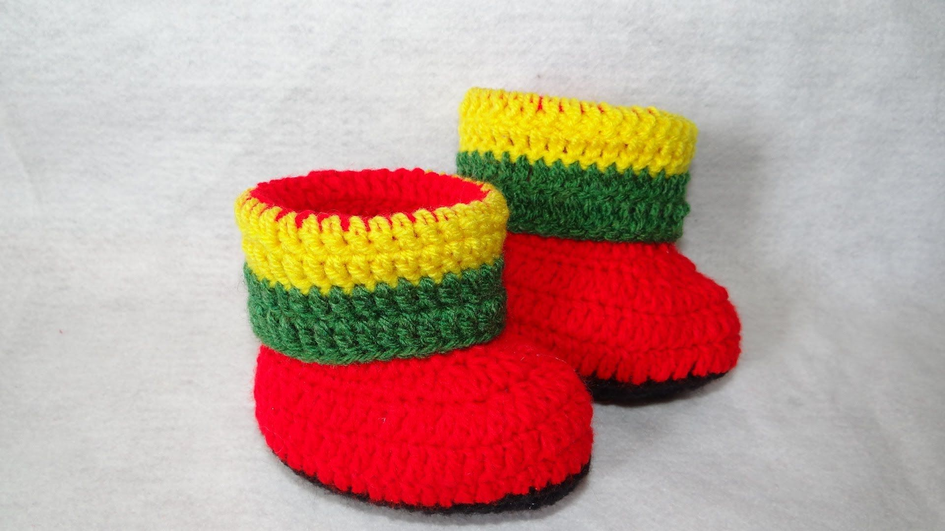 Ankle Jamaica in Crochet Part -1
