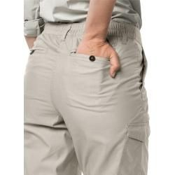 Photo of Jack Wolfskin Winddichter Schlauch Damen Lakeside Pants Damen 42 grau Jack Wolfskin
