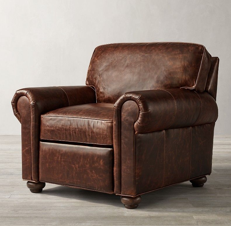 Original Lancaster Leather Recliner In 2020 Leather Chair Leather Chair Living Room Leather Sofa Chair