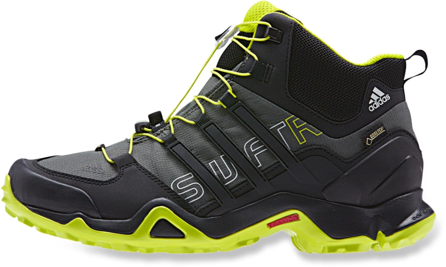 adidas outdoor Terrex Swift R Gore Tex® Mid Hiking Shoes