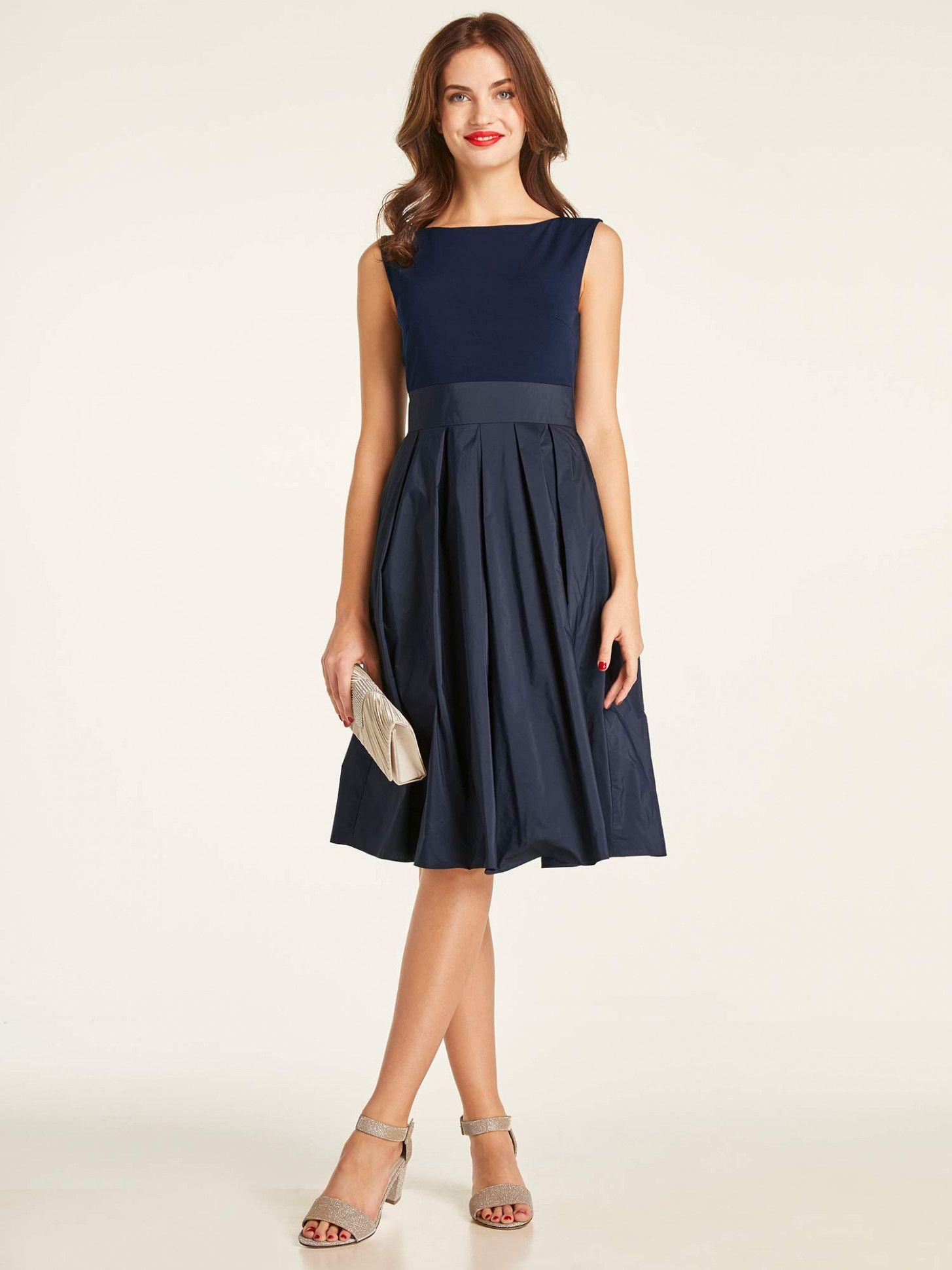 14 kleid hochzeitsgast blau | dunkelblaues kleid hochzeit