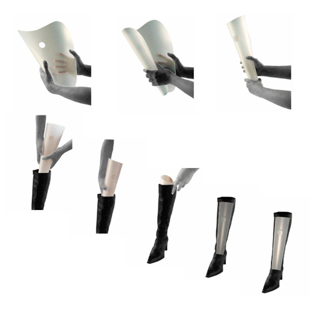 Amazon.com: booti boot shaper COLOR - black for 4 pairs of boots: Shoe Care Products: Shoes