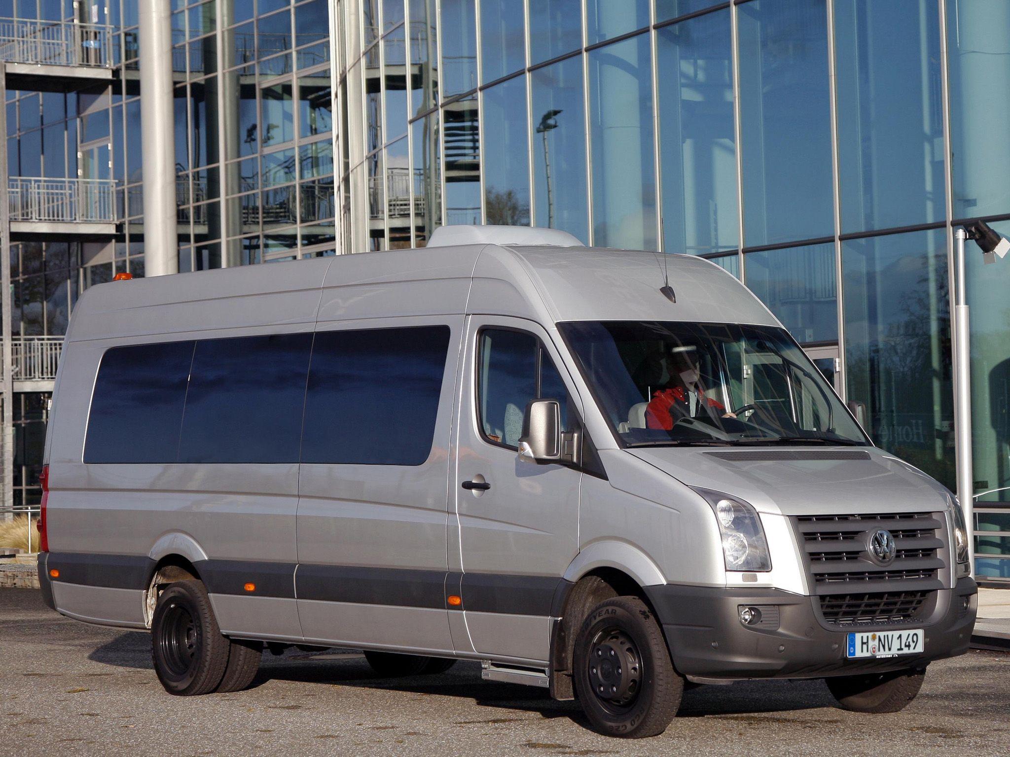 арендовать volkswagen crafter 2012 года 6 человек