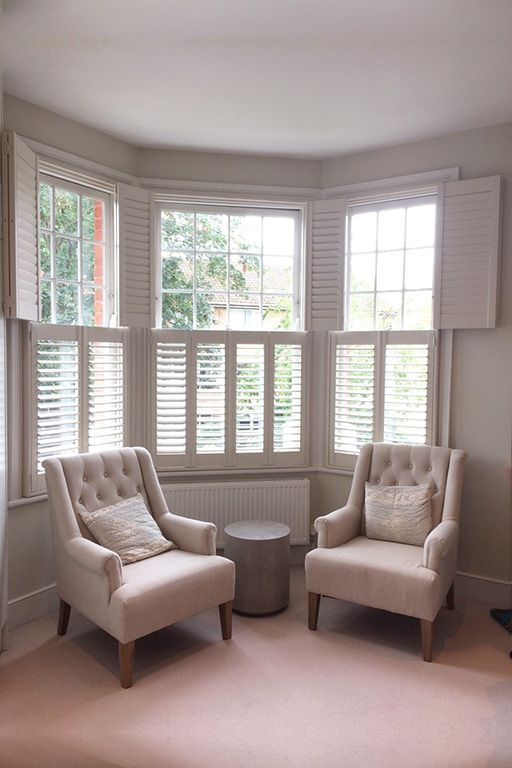 Pin About Bay Window Shutters And Interior Window Shutters