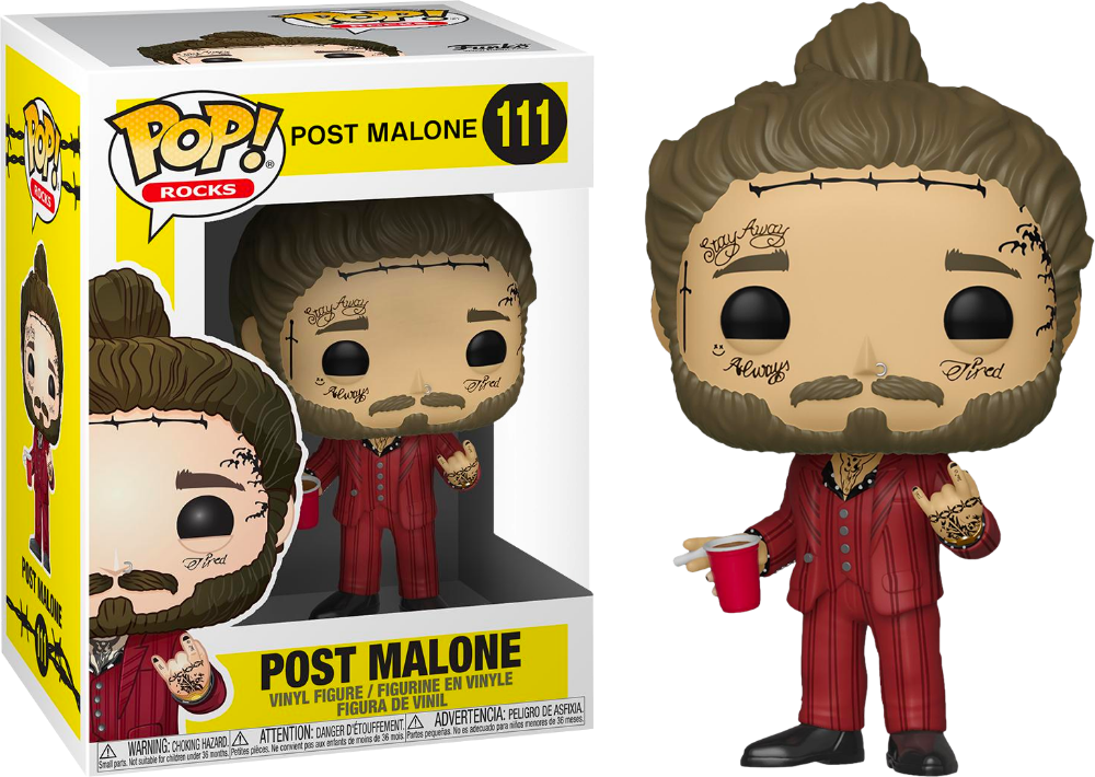 Post Malone Post Malone Funko Pop! Vinyl Figure Vinyl