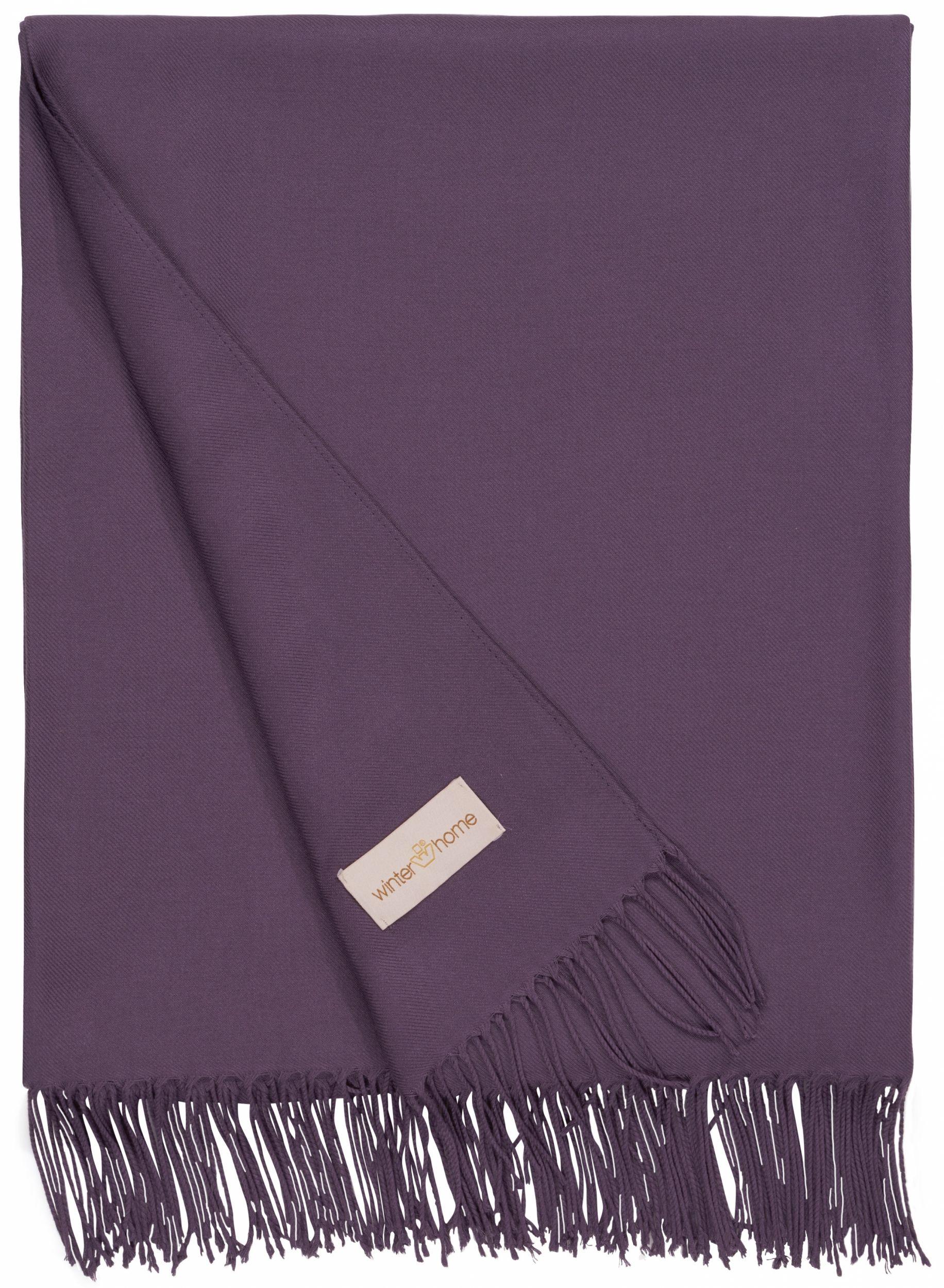 Decke Kyra Purple Winter Home Wohnzimmer Ideen Homedecor