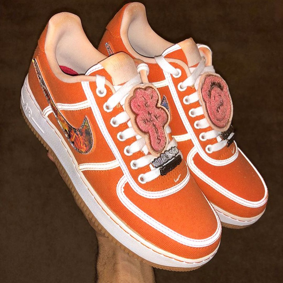 low priced b6fc3 c2ace TRAVIS SCOTT X NIKE AIR FORCE 1 LOW