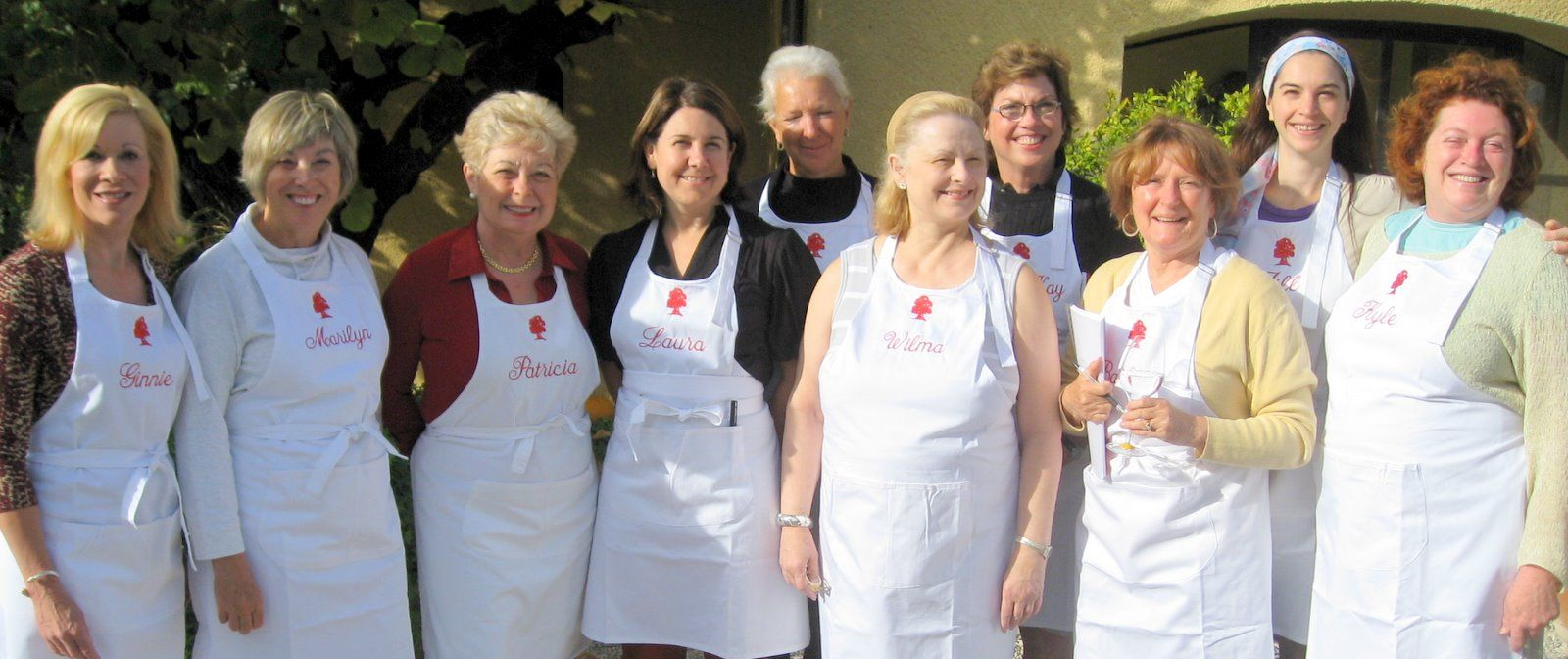 Cooking with Patricia Wells--what fun!