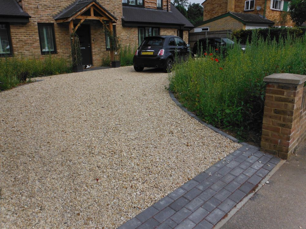 Image Result For Gravel Driveways With Brick And Sleepers