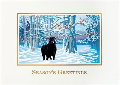 Wall street greetings financial holiday cards bull bear wall street greetings financial holiday cards bull bear corporate greeting cards m4hsunfo