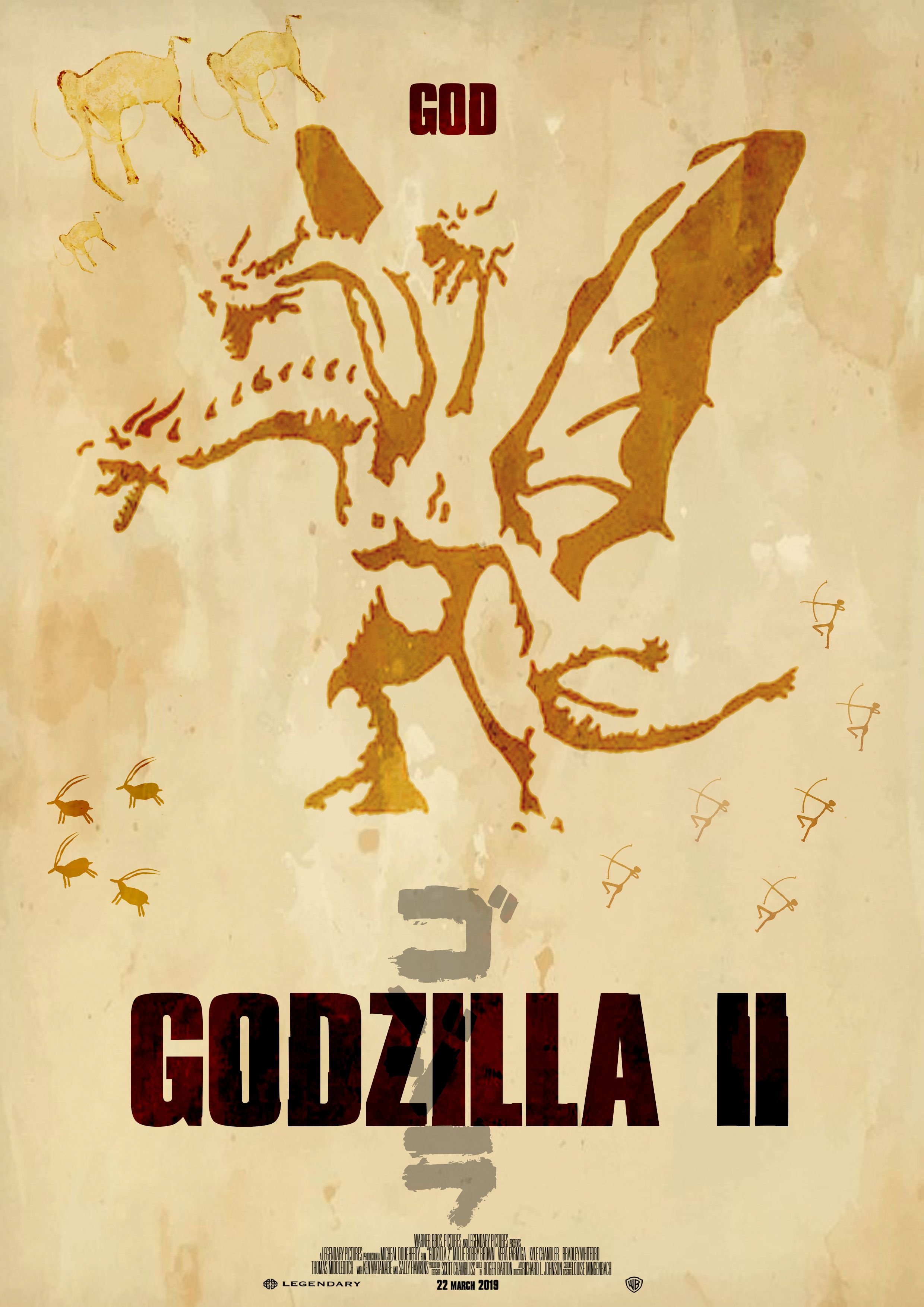 My vision of the Godzilla 2 poster. Created by Yip Simon.   Custom ...