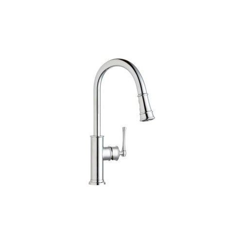 Elkay LKEC2031 Explore Pullout Spray Single Handle Kitchen Faucet, Chrome Elkay http://www.amazon.com/dp/B0061VSH7K/ref=cm_sw_r_pi_dp_mx7Ywb1WB79HF