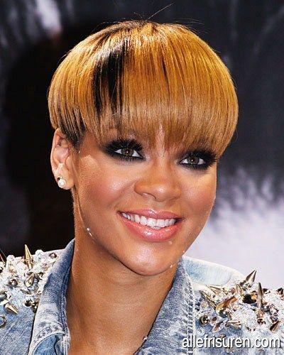 pinterest- /queenmackk ☾ | Rihanna hairstyles, Rihanna ... |Dope Rihanna Haircuts