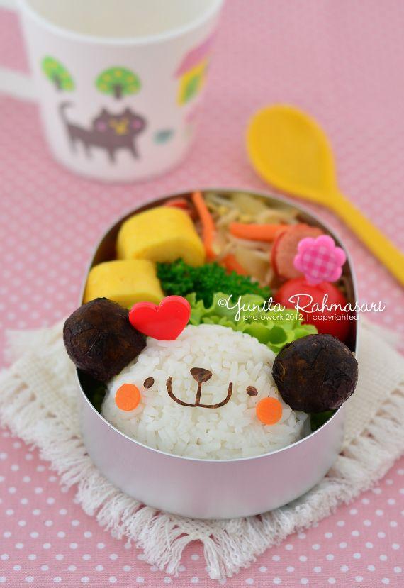 Smiley Bear Bento