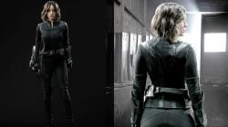 Agents of  S.H.I.E.L.D : Chloe Bennet enfile le costume de Quake